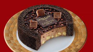 GODIVA×Uchi Café ショコラアイスクリーム ロールケーキ