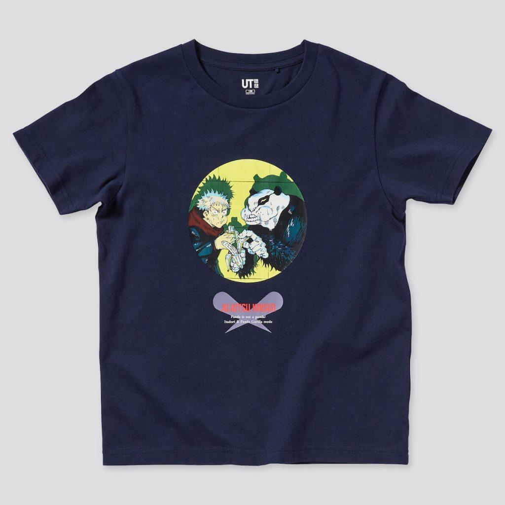 コラボTシャツ 虎杖・パンダ